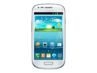 Picture of Samsung Galaxy S III Mini - marble white - 3G 8 GB - GSM - Android smartphone