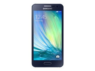 Picture of Samsung Galaxy A3 - SM-A300F - midnight black - 4G HSPA+ - 16 GB - GSM - smartphone