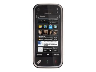 Picture of Nokia N97 - transition black - 3G 32 GB - GSM - smartphone
