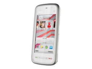 Picture of Nokia 5230 - white, dark silver - 3G GSM - smartphone