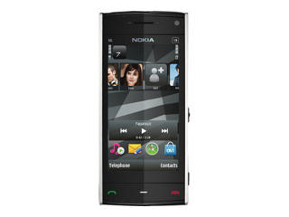 Picture of Nokia X6-00 - Navi Edition - white - 3G GPRS, EDGE, HSDPA - 16 GB - GSM - smartphone