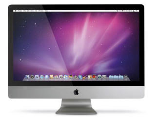 """Picture of Apple iMac - Intel Core i5 2.66GHz - 4GB - 1TB - LED 27"""" - Gold Grade Refurbished"""