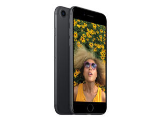 Picture of Apple iPhone 7 - black - 4G LTE, LTE Advanced - 128 GB - GSM - smartphone - Network Unlocked - Gold Grade Refubished