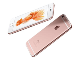 Picture of Apple iPhone 6s - rose gold - 4G LTE, LTE Advanced - 64 GB - TD-SCDMA / UMTS / GSM - smartphone