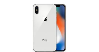 Picture of Apple iPhone X - Silver - 4G LTE, LTE Advanced - 256 GB - GSM - smartphone - Silver Grade Refurbished