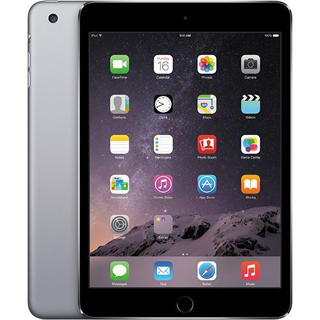 "Picture of Apple iPad Mini 3 Wi-Fi + 4G - tablet - 128GB - 7.9"" - Silver Grade Refurbished"