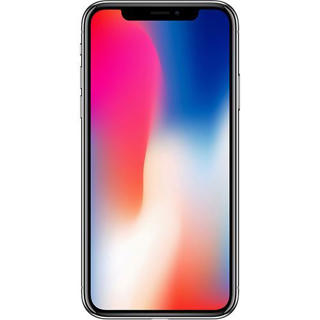 Picture of Apple iPhone X - Black - 4G LTE, Advanced - 256 GB - GSM - smartphone - Gold Grade Refurbished
