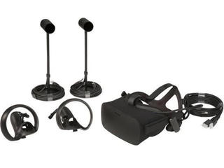 Picture of Oculus Rift - 3D virtual reality headset with 2 Touch controllers and 2 sensors CV1 Bundle - Gold Grade Refurbished