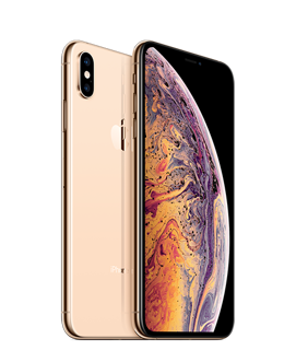 Picture of Apple iPhone XS Max - Gold- 4G LTE, LTE Advanced -256 GB - GSM - smartphone - Gold Grade Refurbished