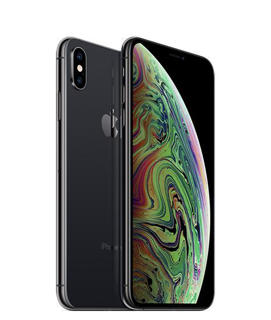Picture of Apple iPhone XS Max - Space Grey- 4G LTE, LTE Advanced - 256 GB - GSM - smartphone -Unlocked - Gold Grade Refurbished