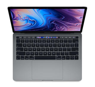 "Picture of Apple MacBook Pro with Touch Bar - 13.3"" - Core i7 3.5GHz - 16 GB RAM - 256GB flash storage - English - Gold Grade Refurbished"