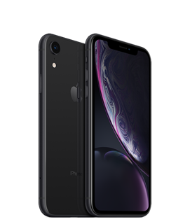 Picture of Apple iPhone XR - Space Grey- 4G LTE, LTE Advanced - 64 GB - GSM - smartphone - Vodaphone - Gold Grade Refurbished