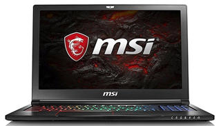"Picture of MSI GE63VR 7RF Stealth Pro - 15.6"" - 2.8Ghz - Core i7 7700HQ - 16 GB RAM - 256 GB SSD + 1 TB HDD - Gold Grade Refurbished"