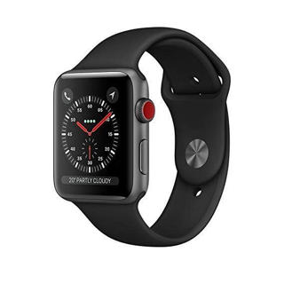 Picture of Apple Watch Series 4 - GPS+4G - space grey - smart watch with sport band - 8 GB - Gold Grade Refurbished