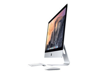 "Picture of Apple iMac with Retina 5K display - Core i5 3.5 GHz - 24 GB - 3 TB Fusion drive  - LED 27"" -Silver Grade Refurbished"