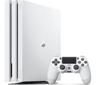 Picture of Sony PlayStation 4 Pro - Game console - 1 TB HDD - White