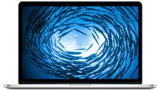 "Picture of Apple MacBook Pro with Retina - 15.4"" - Intel Quad Core i7 2.3 GHz - 8GB RAM - 256GB Flash Storage  - Gold Grade Refurbished"