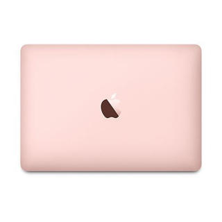 """Picture of Apple MacBook - 12"""" - Intel Core M 1.3GHz - 8GB RAM - 512GB SSD - Rose Gold Colour - Gold Grade Refurbished"""