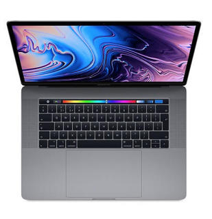"""Picture of Apple MacBook Pro with Touch Bar - 15.4"""" - Core i7 2.6GHz 6-Core - 16 GB RAM - 512 GB SSD - Gold Grade Refurbished"""