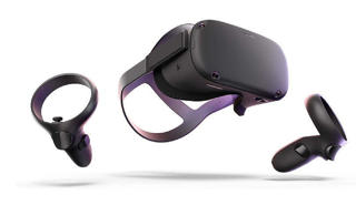 Picture of Oculus Quest  (128GB) - 3D virtual reality headset - 2x  Touch controllers - Gold Grade Refurbished