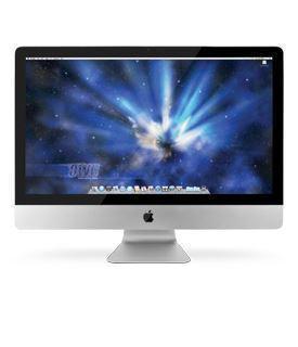 "Picture of Apple iMac - Intel Quad Core i7 - 2.8GHz - 16GB - 2TB - LED 27"" -  Silver Grade Refurbished"